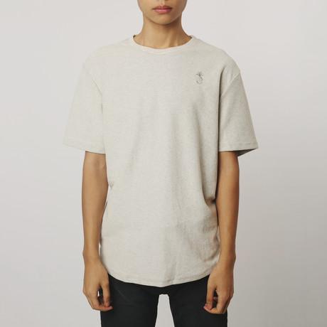 Reverse Terry T-Shirt // Heather Grey (S)