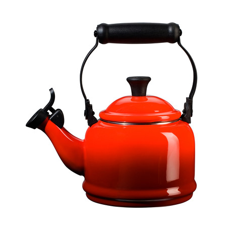 Whistling Demi Tea Kettle (Cerise)