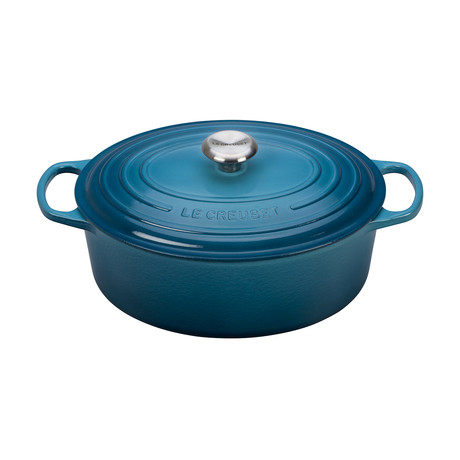 Signature Oval Dutch Oven  // 6.75 qt (Marine)