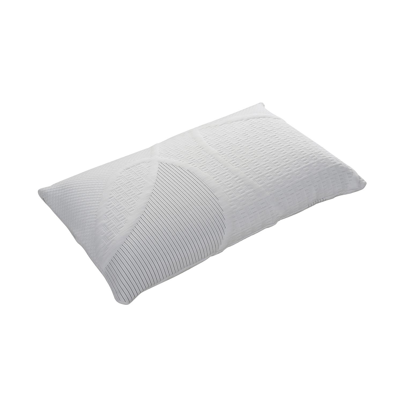 Reversible Hypoallergenic Comfort Memory Foam Pillow Queen AC