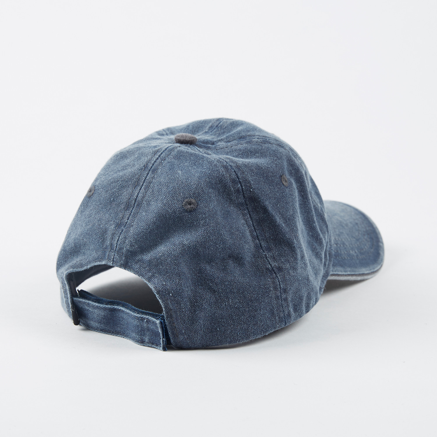 Denim Pigment Cap // Navy + Grey - FITS