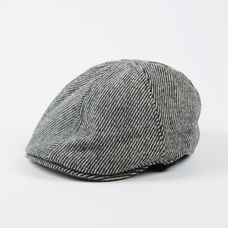 Herringbone Ivy Cap // Grey (L/XL)