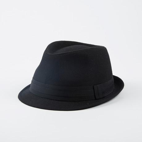 Fits Woolblend Fedora // Black (S/M)