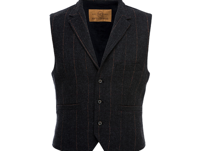 Nifty Genius Elevated Essentials Cooper Vest Shirt // Charcoal (XS) by Touch Of Modern - Denver Outlet