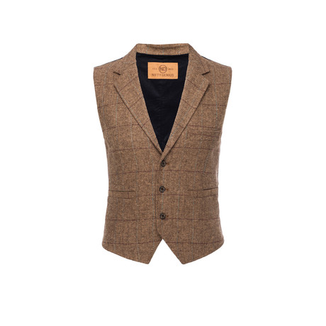 Cooper Vest // Brown (XL)
