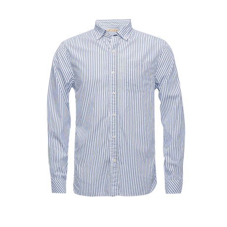 Truman Button Collar Shirt // White (XS)