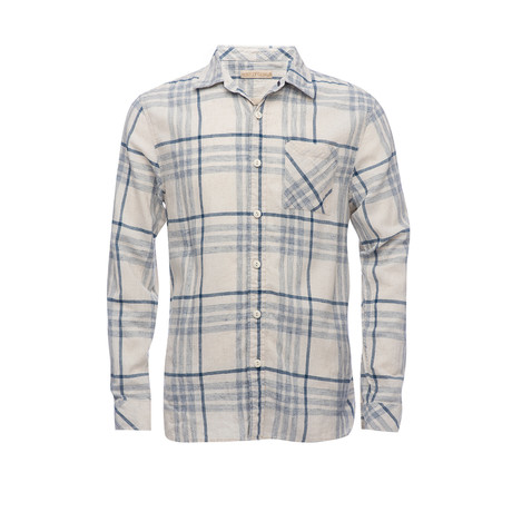 Truman Square Pocket Shirt // Natural (XS)