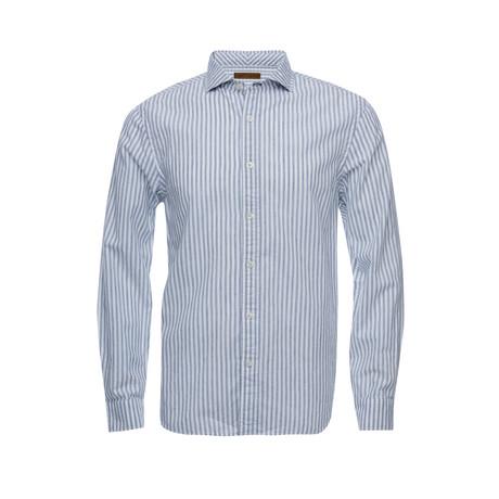 Earnest Spread Collar Shirt // White (XS)