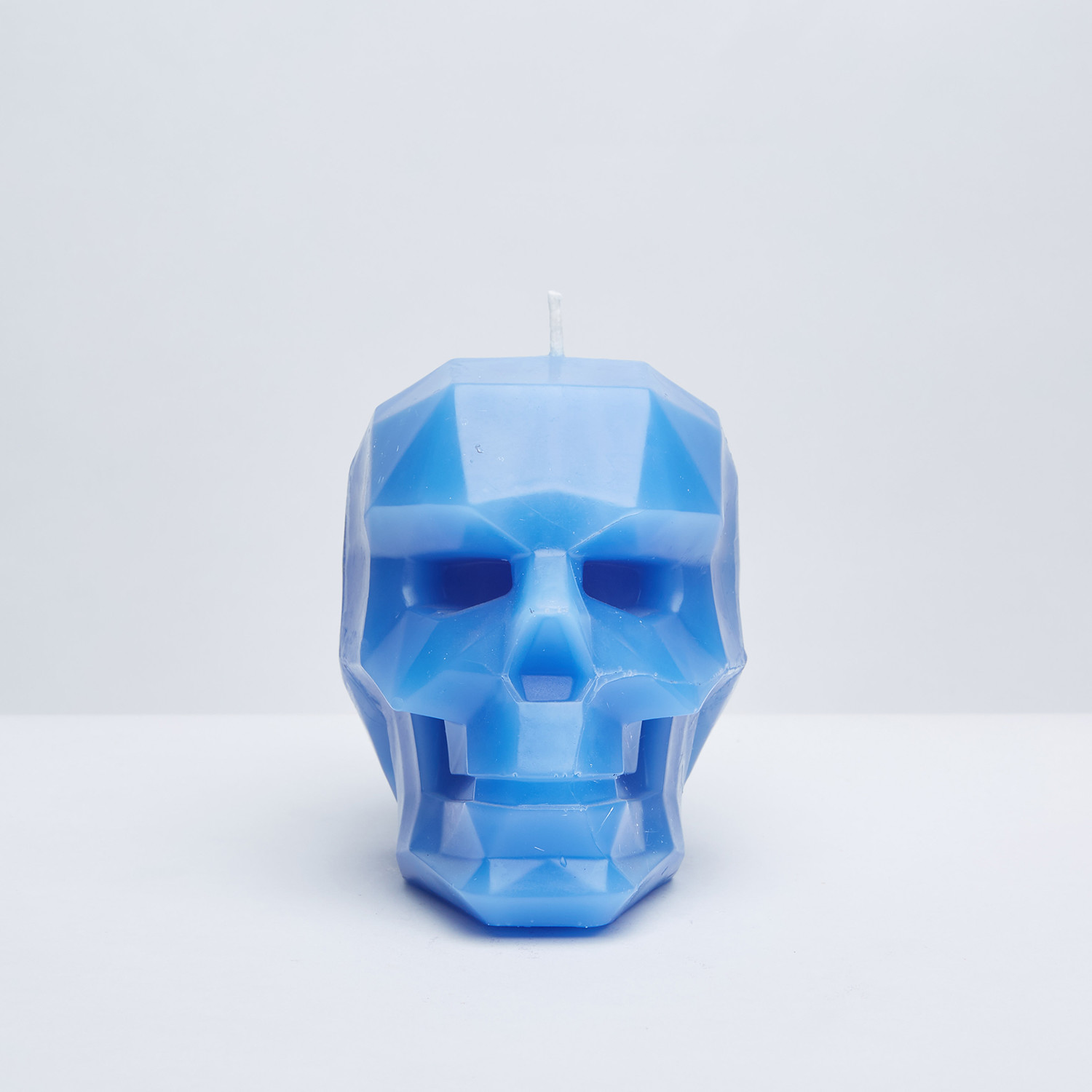 Skull Candle Blue Skeleton Candles Touch Of Modern