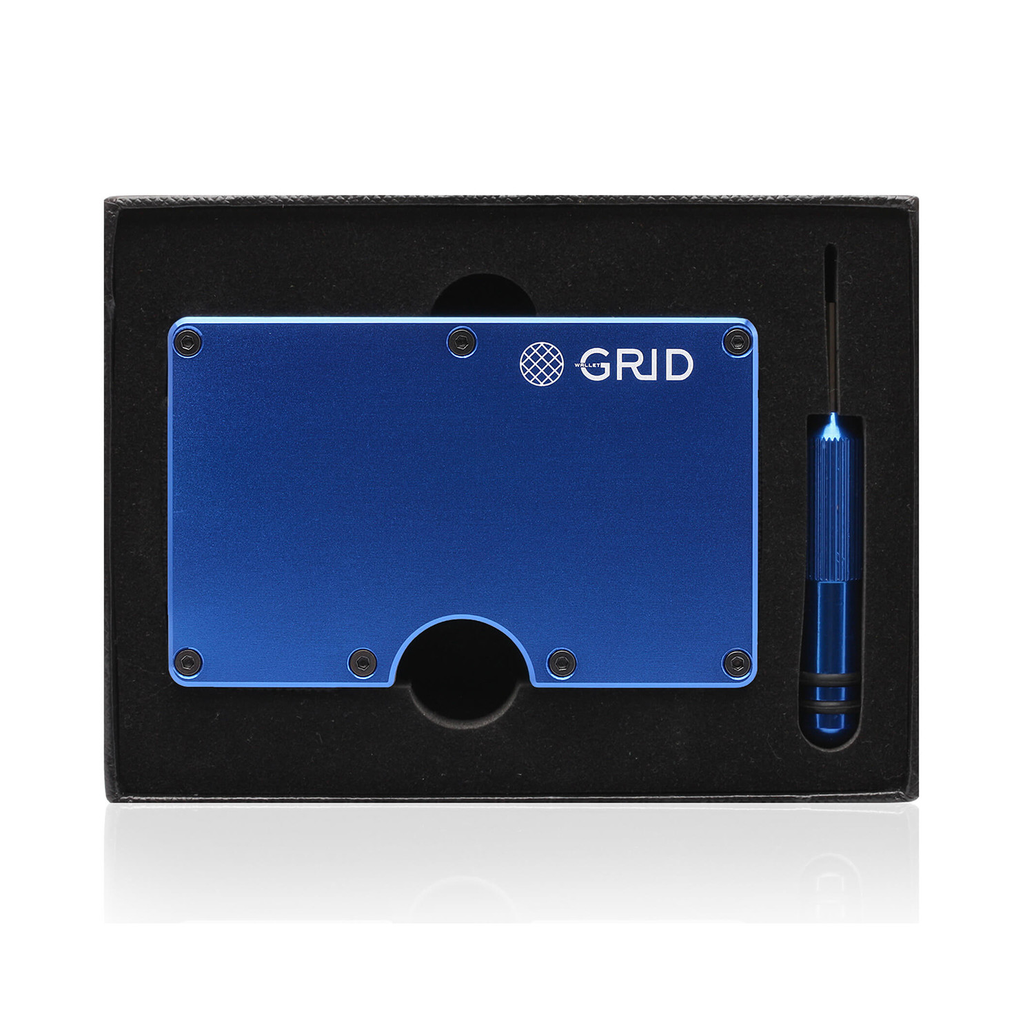 Grid wallet blue grid touch of modern for What is touchofmodern