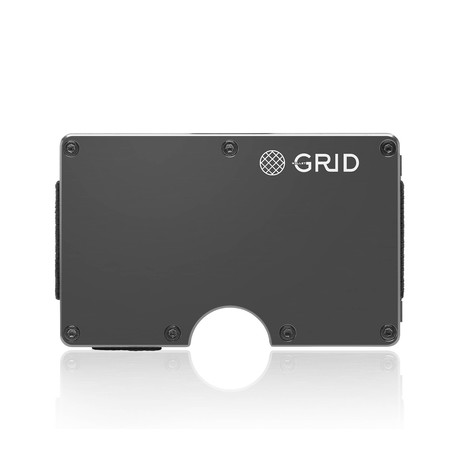 GRID Wallet // Gunmetal