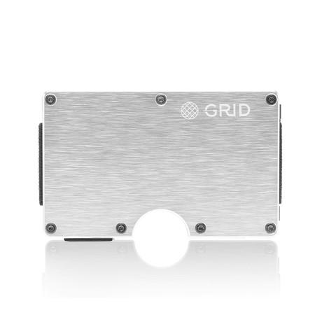 GRID Wallet // Silver
