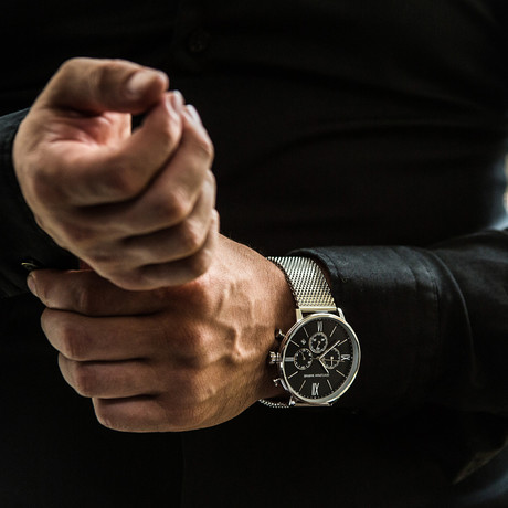 Gentleman Warfare Class Chronograph Quartz // WCH-GW739-C250