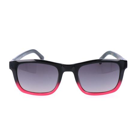 Mayhill Sunglass // Black + Pink Gradient