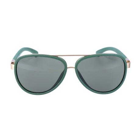 Coolidge Sunglass // Green