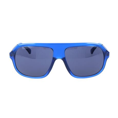 Corley Sunglass // Crystal Blue