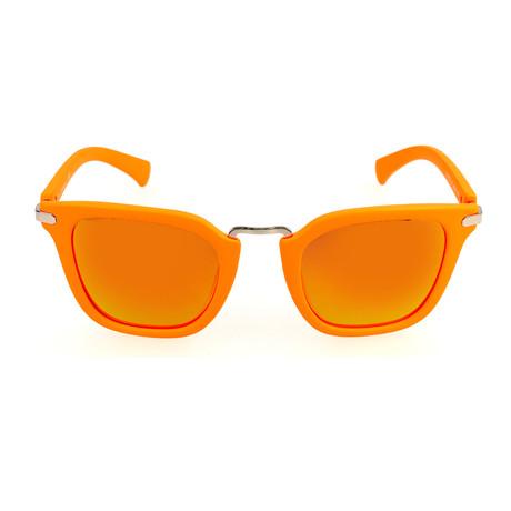 Alpine Sunglass // Matte Orange