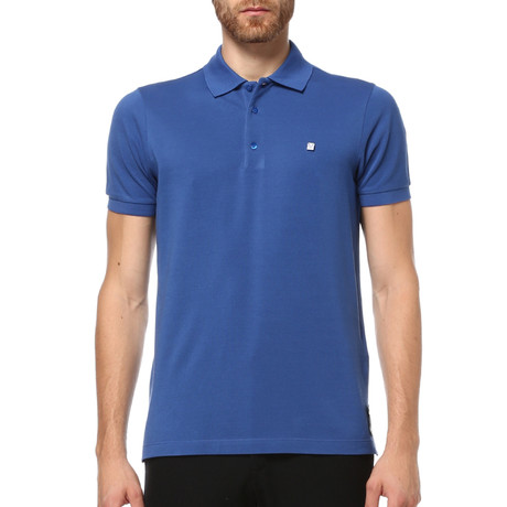 Short Sleeve Polo Shirt // Royal (S)