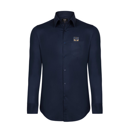 Monster Pocket Shirt // Blue Navy (S)