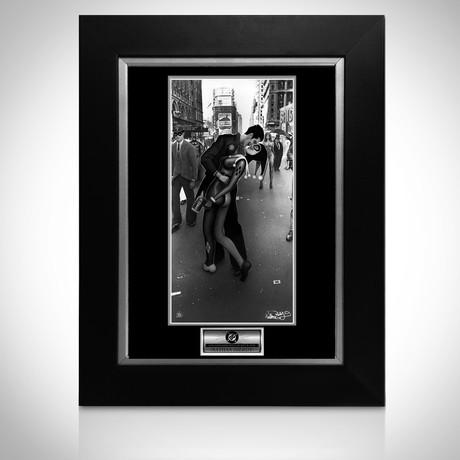 Signed Comic Art // Joker & Harley Quinn // Custom Frame