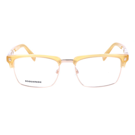 Jones Frame // Yellow + Gold