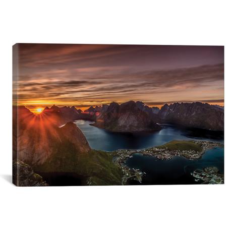 "Midnight Sun, Norway I // Anders Jorulf (40""W x 26""H x 1.5""D)"
