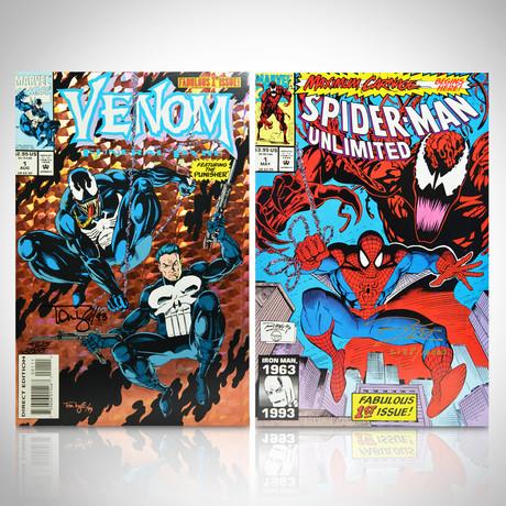 Signed Comics // Venom & Spiderman // Set of 2