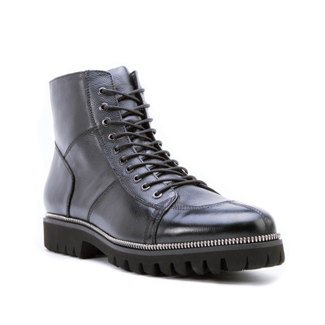 Capri Lug Boot // Black (US: 8)