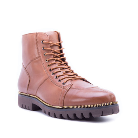 Capri Lug Boot // Brown (US: 8)
