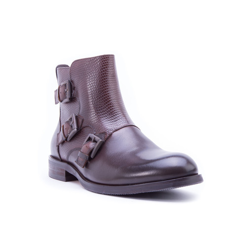 Messina Triple Monkstrap // Brown (US: 8)