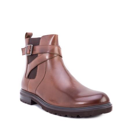 Jamin Strap Chelsea Boot // Brown (US: 8)