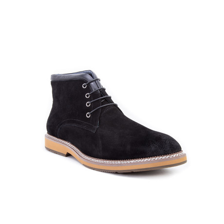 Lazo Chukka Boot // Black (US: 8)