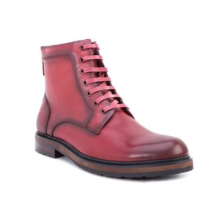 Miro Ankle Boot // Wine (US: 8)