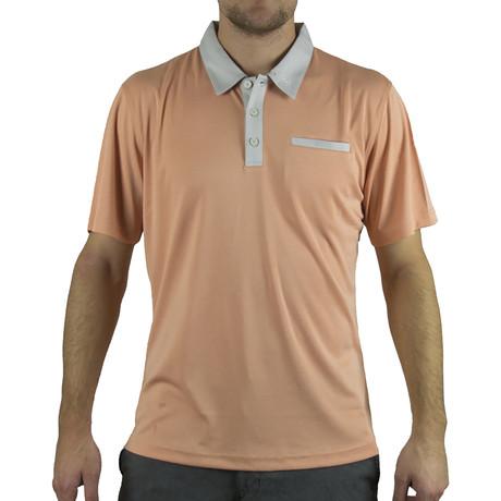 Slit Pocket Polo // Orange (S)