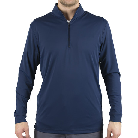 Blair Quarter Zip Pullover // Navy (S)