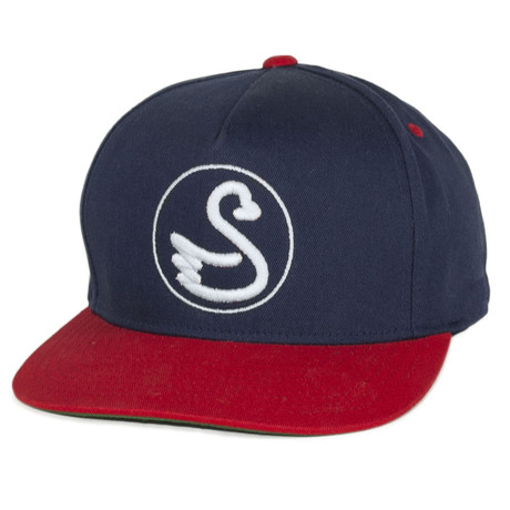The Julio Snapback Hat // Red + Blue