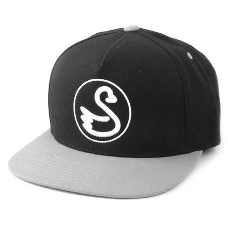 Stang Hat // Grey + Black
