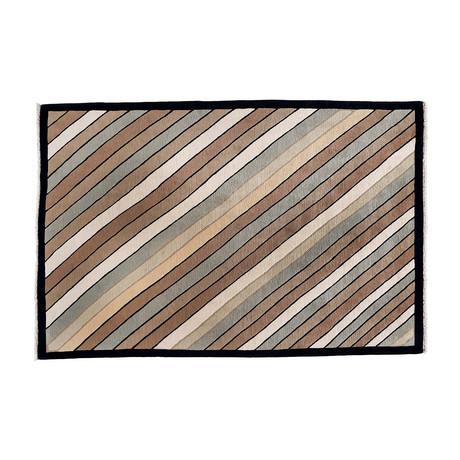 Handmade Contemporary Rug // Diagonals