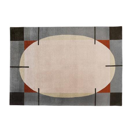 Handmade Contemporary Rug // Oval