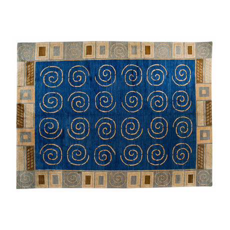 Spiral Contemporary Rug