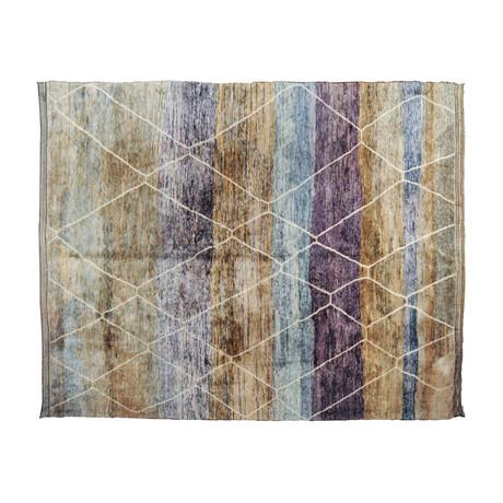 Handmade Moroccan Rug // Dark Spectrum