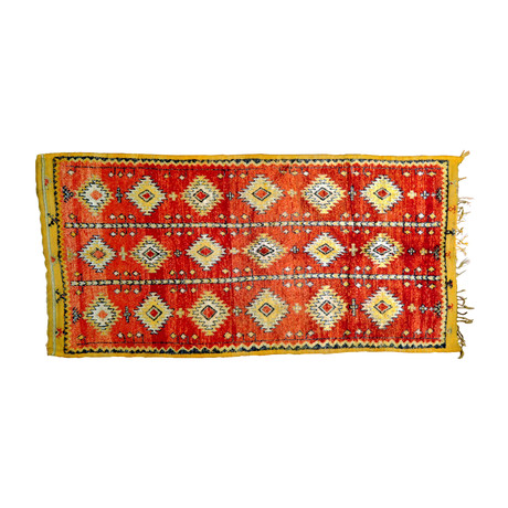 Handmade Moroccan Rug // Abstract Squares