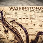 """Washington DC (7""""W x 11""""H x 1.5""""D)"""