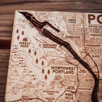 """Portland (8""""W x 9""""H x 1.5""""D)"""