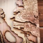 """San Francisco (7""""W x 8""""H x 1.5""""D)"""