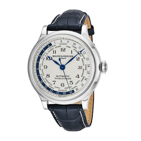 Baume & Mercier Worldtimer Automatic // M0A10106 // Store Display