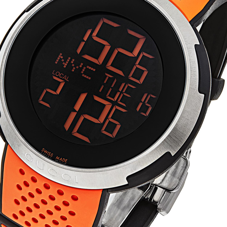 Gucci I Sport XXL Quartz // YA114104 - Dynamic Timepieces - Touch of Modern