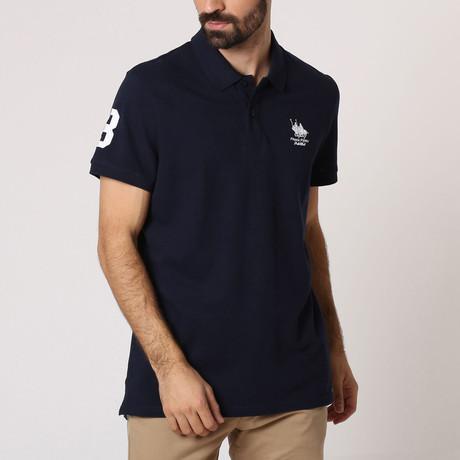 Polo Club Shirt // Navy + White (S)