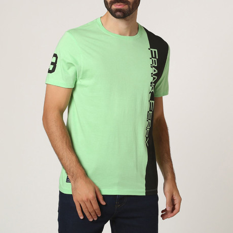 Graphic Crew T-Shirt // Green (S)