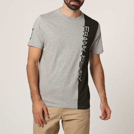 Graphic Crew T-Shirt // Grey M. (S)